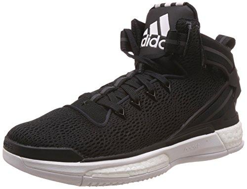 adidas Herren D Rose 6 Boost Baseballschuhe, Weiß (Ftwr White/Core Black/Core Black), 46 EU (Kobe 6 Basketball-schuhe)