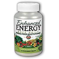 Kal - Enhanced energia una volta al giorno intero cibo multivitaminico - 60 compresse vegetariane