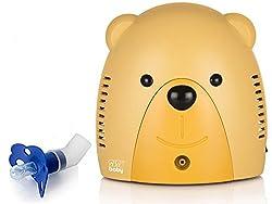 Sisi Baby Inhaliergerät für Kinder Erwachsene Inhalator Vernebler (Teddy SBC-09B)