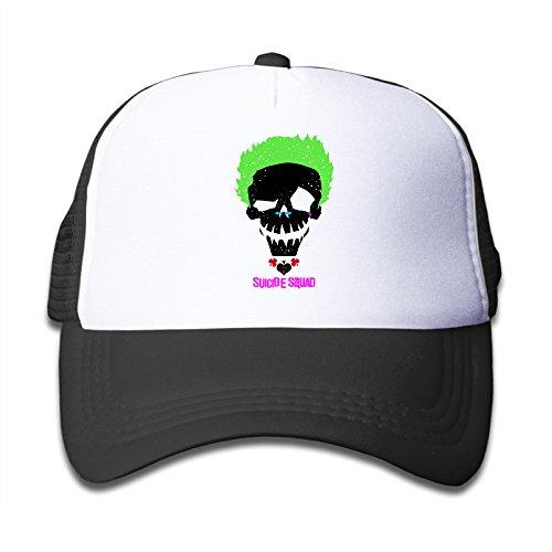 xj-cool-joker-hochformat-teenager-hat-cap-sommer-leichtes-mesh-flexfit-pink-gr-one-size-schwarz