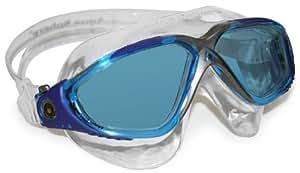 Aqua Sphere Unisex Vista Swim Mask - Aqua Frame/Blue Lens