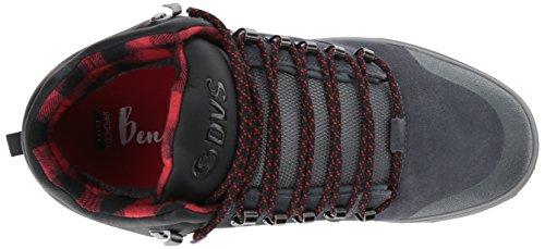 DVS Shoes Herren Vanguard Hohe Sneaker Grau (Charcoal Suede)