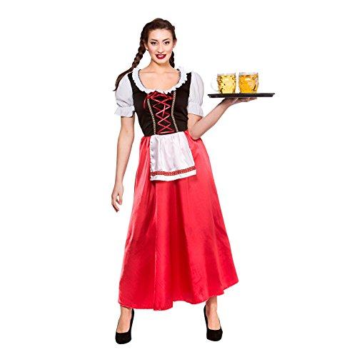 Bavarian Beer Wench Ladies Fancy Dress Costume Halloween