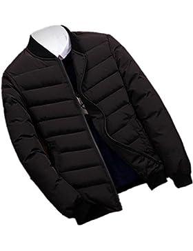 MHGAO Nuevo invierno de ocio, además de terciopelo acolchadas abajo cubren hombres de la capa de , black , xxl