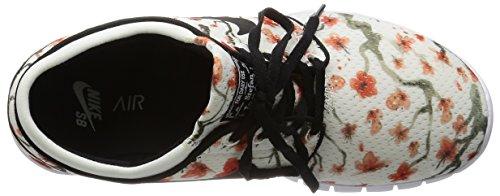 Nike Stefan Janoski Max Prm, Chaussures De Skate Pour Homme Gris / Noir / Blanc (voile / Noir-blanc)
