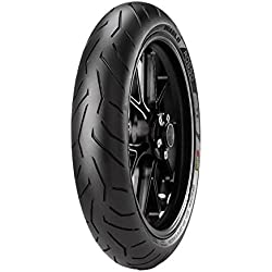 Pirelli Diablo Rosso II 110/70 R17 M/CTL 54H Tubeless Bike Tyre, Front (Home Delivery)