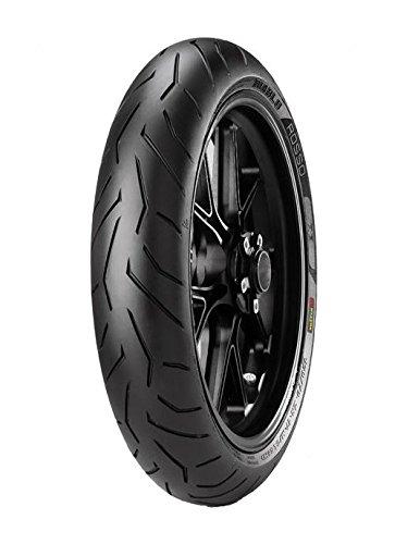 pirelli diablo rosso ii 110/70 r17 m/ctl 54h tubeless bike tyre, front (home delivery) Pirelli Diablo Rosso II 110/70 R17 M/CTL 54H Tubeless Bike Tyre, Front (Home Delivery) 41NGCrFWbrL
