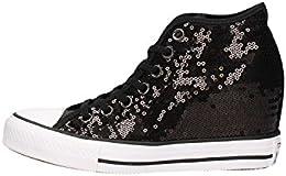 scarpe donna converse zeppa