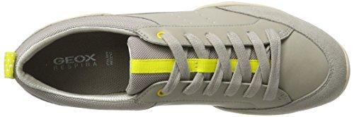 Geox Arrow B, Sneaker Basse Donna Grigio chiaro