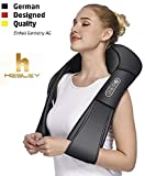 Hesley Back And Neck Massager With Heat Deep Kneading Massage For Neck, Back