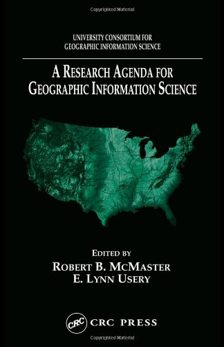 A Research Agenda for Geographic Information Science (Section E--Nutritional Disorders)