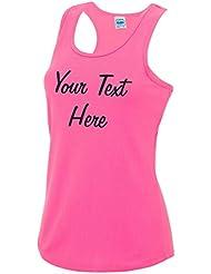 Direct 23 Ltd Personalised Ladies Cool Sports Vest