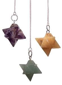 Merkaba (Star) Pendel. Merkaba-Stern Pendel. Ein perfektes Geschenk–Ideal für Geburtstage, Weihnachten......