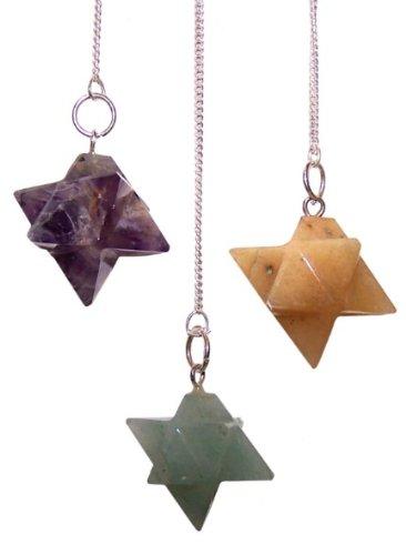 Merkabah étoile merkabah Star Pendulum. Pendulum. le cadeau Parfait-Idéal pour les anniversaires, Christmas......