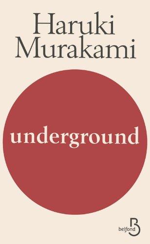 Underground par Haruki Murakami