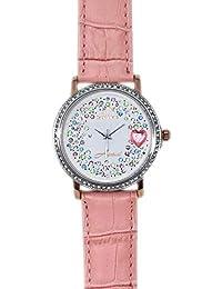 Capri MAR Reloj de Mujer colección amami con Esfera en Brillantes Cinturino Rosa In Pelle