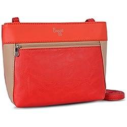 Baggit Women's Sling Bag (Red) ()