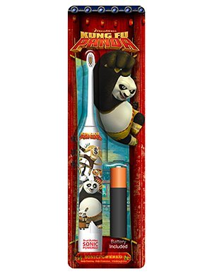 BRUSH Buddies Kung Fu Panda Sonic Powered Zahnbürste für Kinder oder Kinder Panda Versorgt