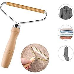 Anti-Peluche Rasoirs,Fuzz Rasoir,Dissolvant de peluches,Portable Brosse Rasoir Vetements Peluche pour la maison, le bureau, la voiture et les voyages (1-1)