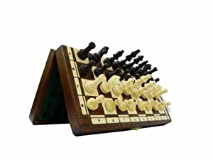 MAGNETIC, Solid Wood, Chess Set