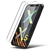 UTECTION 2X Panzerglas Folie für Apple iPhone X/Xs - Schutzfolie aus Glas gegen Displayschäden -...