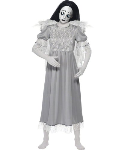Original Lizenz Living Dead Dolls Puppe für Damen Dämon Puppenkostüm Halloween Damenkostüm Halloweenkostüm Horror Grusel Gr. 34 (XS), 36/38 (S), 40/42 (M), - Uk Doll Dead Halloween Kostüm