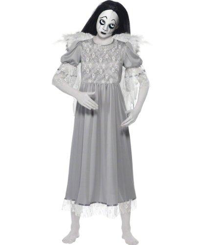 Original Lizenz Living Dead Dolls Puppe für Damen Dämon Puppenkostüm Halloween Damenkostüm Halloweenkostüm Horror Grusel Gr. 34 (XS), 36/38 (S), 40/42 (M), - Uk Kostüm Halloween Doll Dead