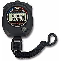 étanche LCD numérique Chronomètre chronographe minuterie Compteur Sports Alarme
