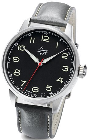 Laco gentles watch Black automatic 861610