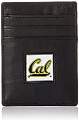 NCAA California Golden Bears Leather Money Clip/Cardholder