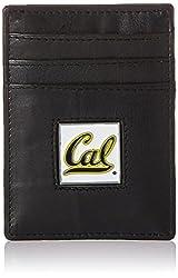 NCAA California Golden Bears Leather Money Clip/Cardholder