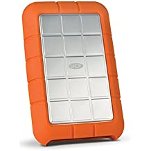 LaCie Rugged Triple - Disco duro externo portátil para Mac y PC, 1 TB (FireWire + USB 3.0, 2.5')