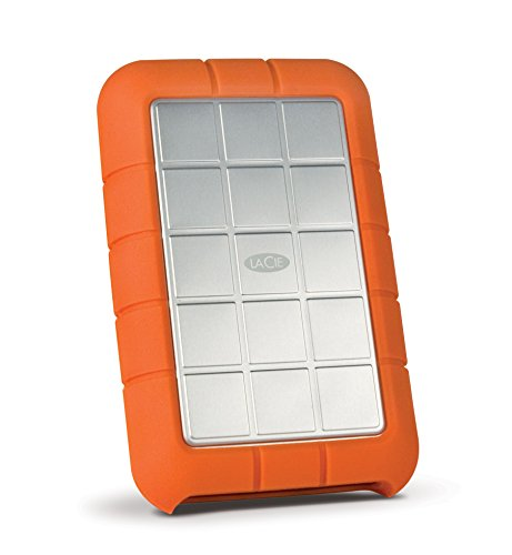 LaCie Rugged Triple USB 3.0 Firewire 800 1 TB External Hard Drive (STEU1000400)  available at amazon for Rs.23198