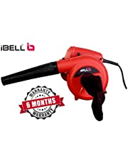 iBELL Air Blower 600W RPM 14000 Blow Rate 3.3 m/Min wit h V
