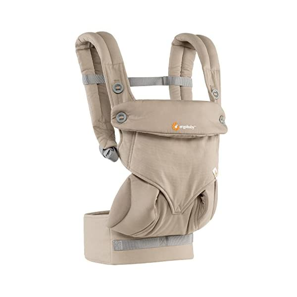 Ergobaby baby carrier collection 360 (5.5 - 15 kg), Moonstone Ergobaby 4 ergonomic wearing positions: front-inward, front-outward, hip and back carry Structured bucket seat keeps baby seated in the anatomically correct frog-leg position Exceptionally comfortable thanks to adjustable, extra-wide waistband to support the lower back 2