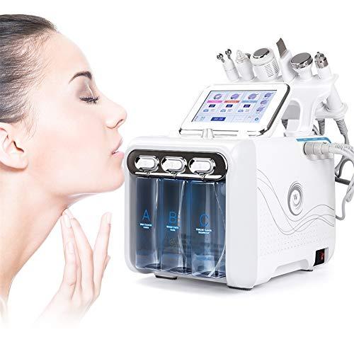 AOBEAUTY 6 in 1 Klein Blase Sauerstoff Schönheit Maschine Wasser Jet Injektion Wasserstoff Peroxid Haut Pflege Verjüngung Reinigung Mitesser Gesicht Schmutz Zum Familie, Schönheit, Salon