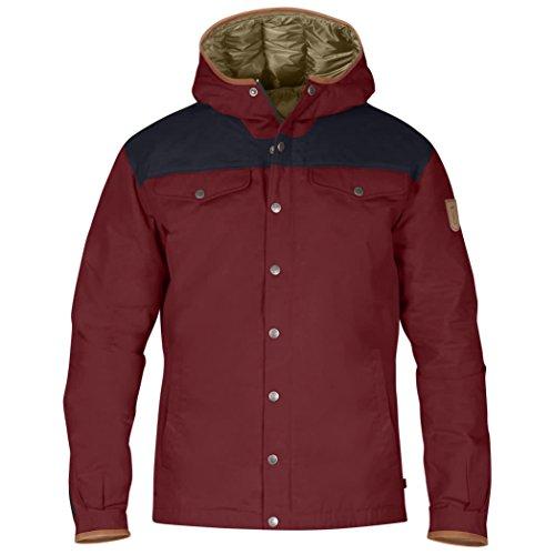 Fjällräven Herren Greenland No. 1 Down Jacket 81394 Red Oak-Night Sky L