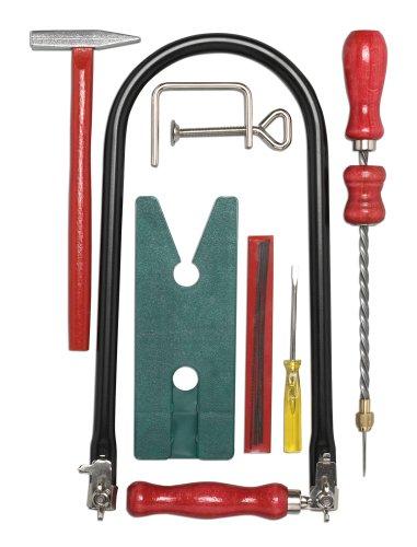 Pebaro 935 - Sierra de marquetería con accesorios