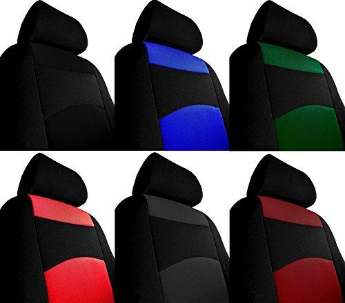 Auto Sitzbezüge, Sitzbezug, Einfache Bezüge CLASSIC PLUS - Universal Stoffsitzbezug zum SONDERPREIS!!! In diesem Angebot SCHWARZ (In 5 Farben bei anderen Angeboten erhältlich).