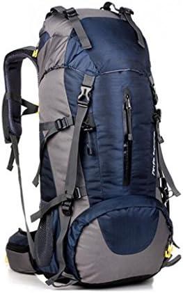 JBHURF 45 + 5L grande capacità impermeabile uomini uomini uomini e donne zaino esterno borsa alpinismo sacchetto di campeggio esterna sport - nero (Coloreee   Old blu) B07F7GYV6T Parent   In Breve Fornitura    Nuovo Arrivo    On-line  6a9a4a