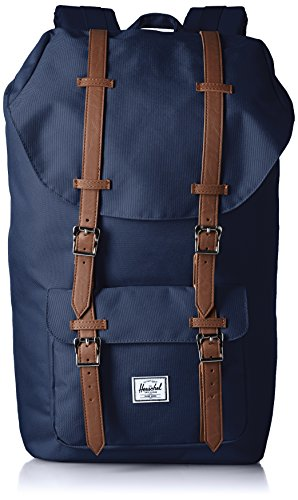 Little America Backpack (Innenfutter Gestreiftes Blau)
