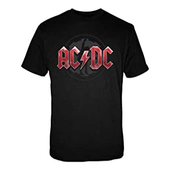 Collectors Mine Herren T-Shirt AC/DC - Ice Cog, Gr. 52 (XL), Schwarz (Schwarz)