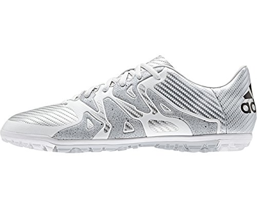 Adidas Homens X 15,3 Relva Sapato De Futebol, Amarelo, Branco 40,5 Ue