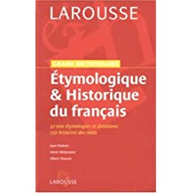Grand dictionnaire étymologie et historique du francais
