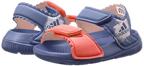adidas Unisex Baby Altaswim Sandalen, Violett (Super Purple/Haze Coral/Easy Coral), 26 EU -