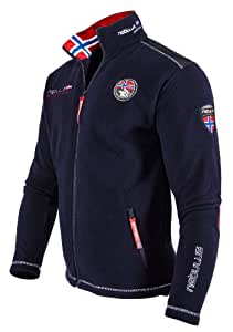 NEBULUS high end FLEECEJACKE EXPLORE, Herren, navy, Jacke, Outdoor, Gr XL (Q500)