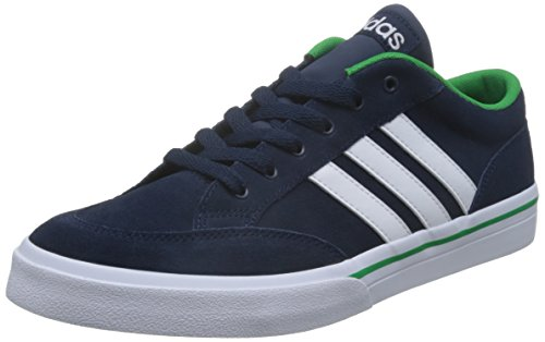 adidas Gvp, Chaussures de Sport Homme Bleu (bleu marine collégial / blanc Footwear / vert)