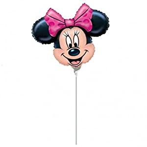 "ANAGRAM balón de Papel de Aluminio minishape 9""""-23cm Minnie-si hincha de Aire, Multicolor, 7a0789002"