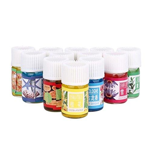 Beste Wimperntusche Empfindliche Augen (MRULIC 12 Geschmack 3ML / Box Hautpflege Bad Massage Schönheit Rein Aromatherapie Ätherisches Öl (A))