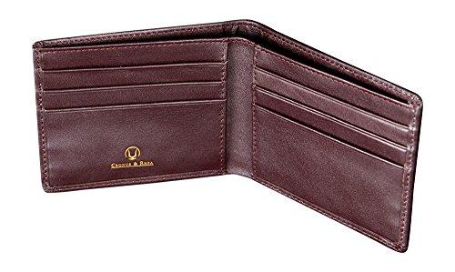 Cronus & Rhea | Luxus Geldklammer aus exklusivem Leder (Ladon) | Kartenhalter - Kartenetui -...